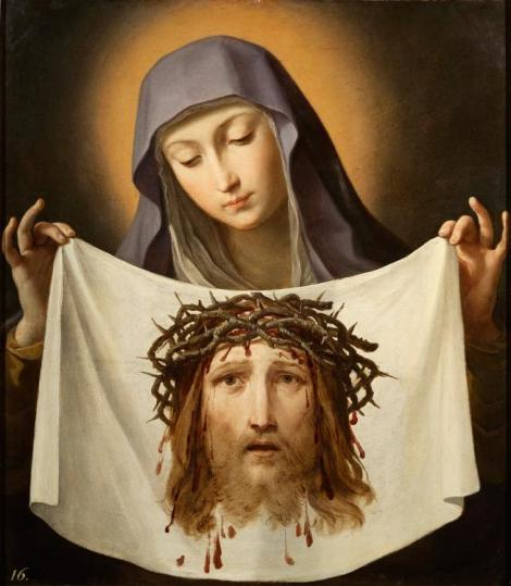Guido Reni, St Veronica, c. 1638 (Pushkin Museum, St Petersburg)