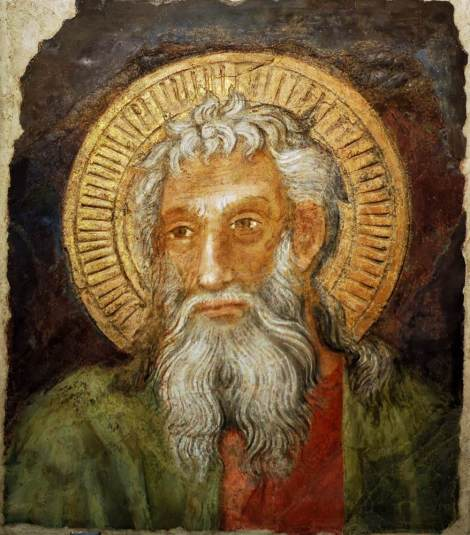 Lippo D'Andrea, St Andrew (fragment), c. late 14th - early 15th C. (Museo dell'Opera del Duomo, Florence)