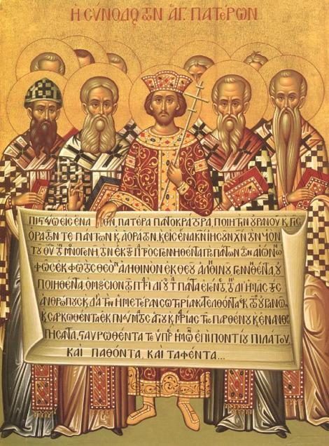 Icon of the First Council of Nicaea