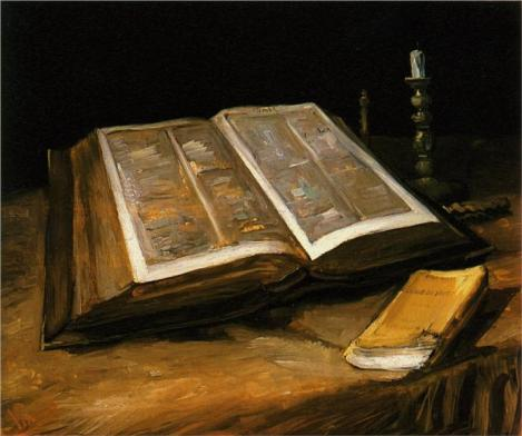 Vincent van Gogh, Still Life with Bible, c. 1885 (Van Gogh Museum, Amsterdam)