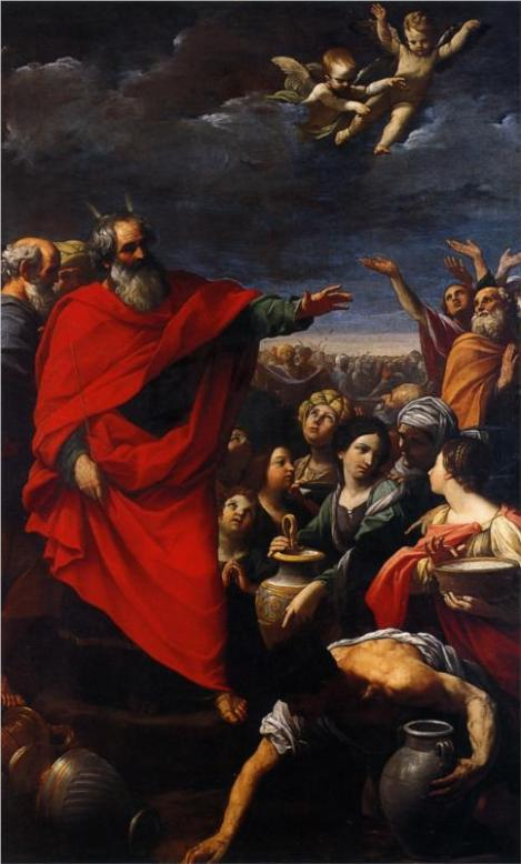 Guido Reni, The Gathering of the Manna, 1621
