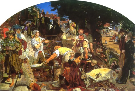 Ford Madox Brown, Work, 1852 - 1863 (City Art Gallery, Manchester)