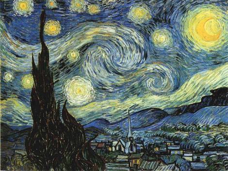 Vincent van Gogh, Starry Night, 1889 (Museum of Modern Art, New York)