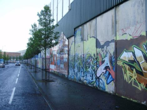 Peace Wall, Belfast 2011