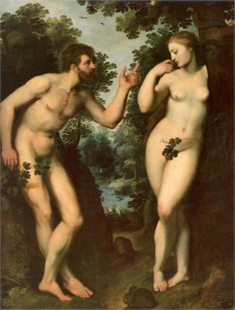 Peter Paul Rubens, Adam and Eve, c. 1597