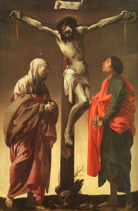 Hendrick Terbrugghen, The Crucifixion With The Virgin And St. John, 1625 (The Metropolitan Museum of Art, New York)