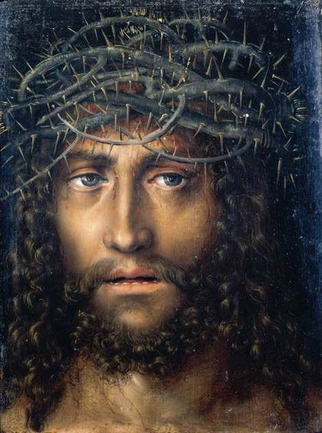 Lucas Cranach the Elder, Head of Christ Crowned with Thorns, 1510