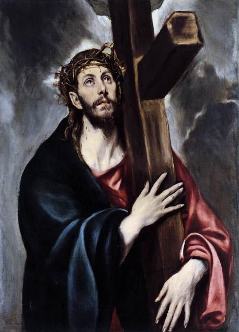 El Greco, Christ Carrying the Cross, c. 1578 (Museo del Prado, Madrid)