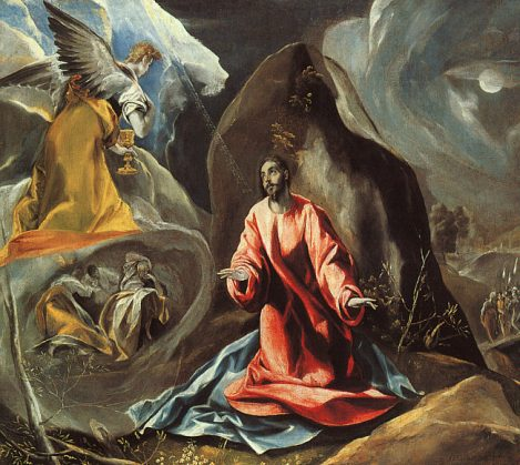 El Greco, The Agony in the Garden, c. 1605 (Toledo Museum of Art, Toledo, OH)
