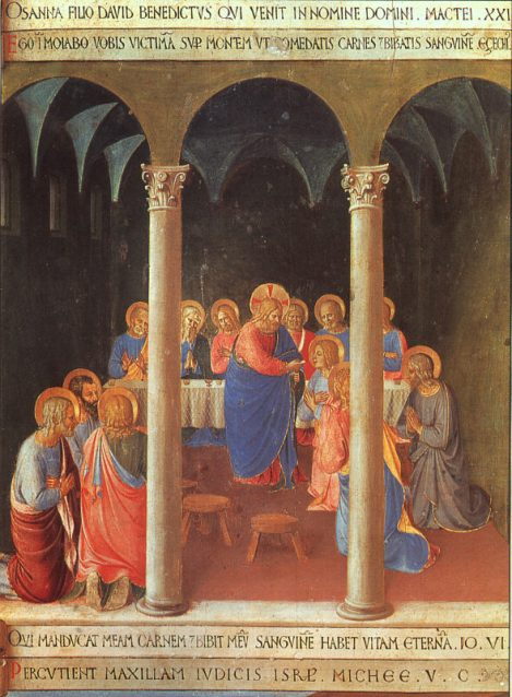 Fra Angelico, Communion of the Apostles, 1452 (Museo di San Marco, Florence)