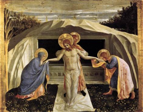 Fra Angelico, Entombment, 1440 (Alte Pinakothek, Munich)