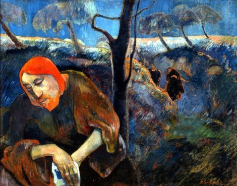 Paul Gaugin, The Agony in the Garden, 1889 (Norton Gallery, Palm Beach)