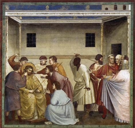 Giotto, Flagellation, c. 1305 (Scrovegni Chapel, Padua)