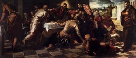 Tintoretto, Last Supper, c. 1570 (San Polo, Venice)