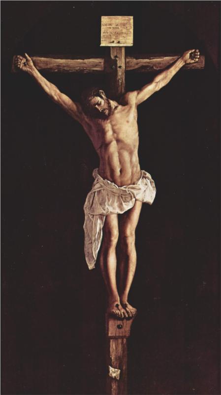 Francisco de Zurbaran, Christ on the Cross, 1627
