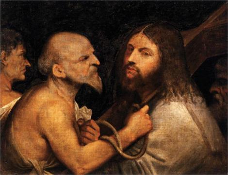 Giorgione, Christ Carrying the Cross (Scuola Grande di San Rocco, Venice)