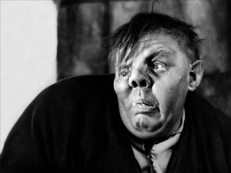 Charles Laughton as Quasimodo in the 1939 film The Hunchback of Notre Dame