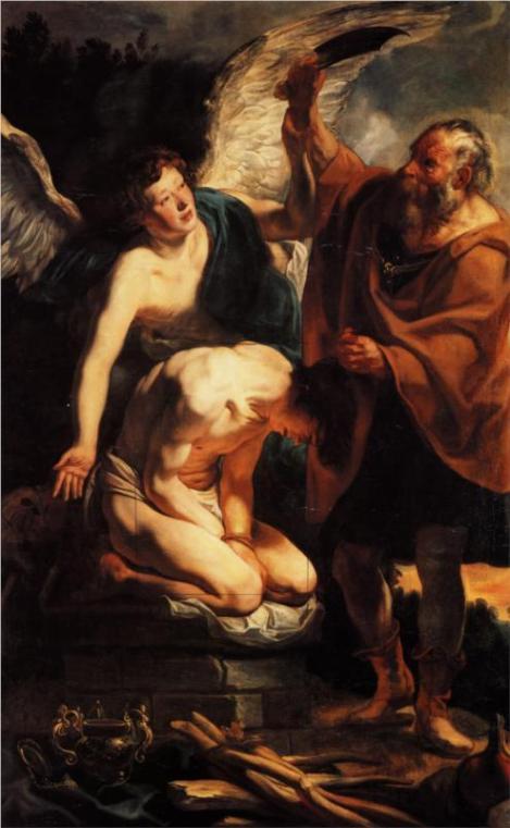 Jacob Jordaens, The Sacrifice of Isaac, 1630 (Pinacoteca di Brera, Milan)