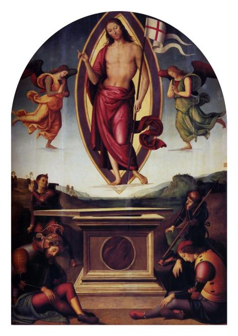 Pietro Perugino, Resurrection, 1500