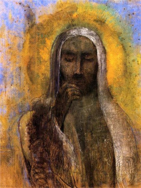 Odilon Redon, Christ in Silence, 1897 (Musée du Petit Palais, Avignon)