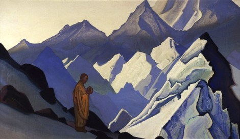 Nicholas Roerich, Morning Prayer, 1931 (Indian Agricultural Research Institute, New Delhi)