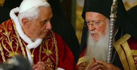 Pope Benedict & Patriarch Bartholomew
