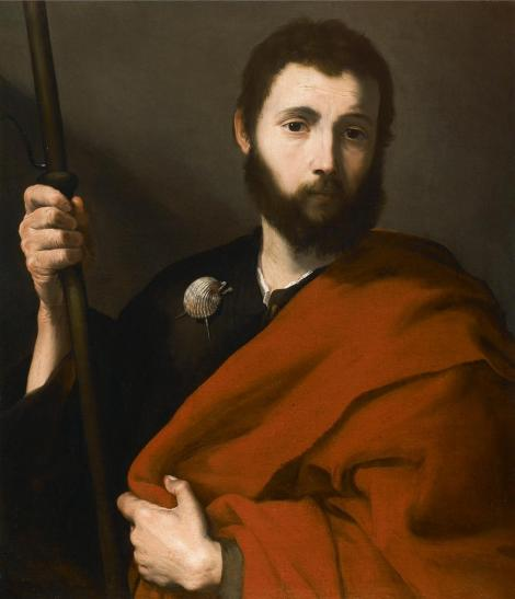 Jusepe de Ribera, St James the Greater, c. 17th C.