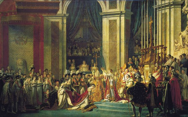 Jacques-Louis David, The Coronation of Josephine, 1807 (Musée du Louvre, Paris)