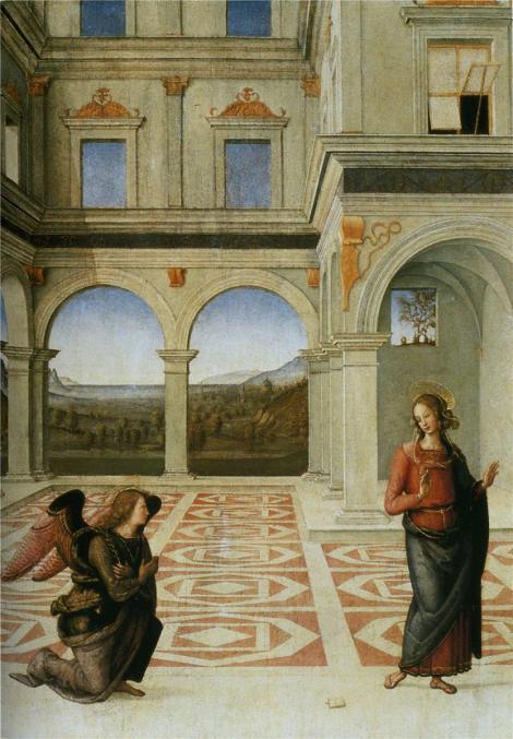 Pietro Perugino, The Annunciation, 1497