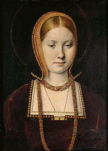 Michael Sittow, Young Catherine of Aragon, c. 1504 (Kunsthistorisches Museum, Vienna)