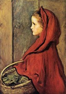 John Everett Millais, Red Riding Hood, 1865