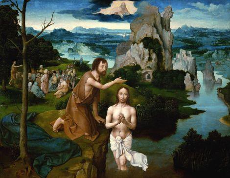 Joachim Patinir, The Baptism of Christ, c. 1510 (Kunsthistorisches Museum, Vienna)