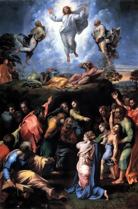Raphael, The Transfiguration, 1520 (Vatican Museum, Vatican)