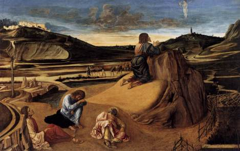 Giovanni Bellini, The Agony in the Garden, 1459 (National Gallery, London)