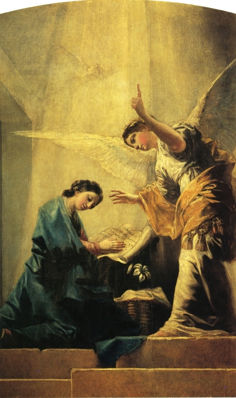 Francisco Goya, The Annunciation, 1785 (Private Collection)