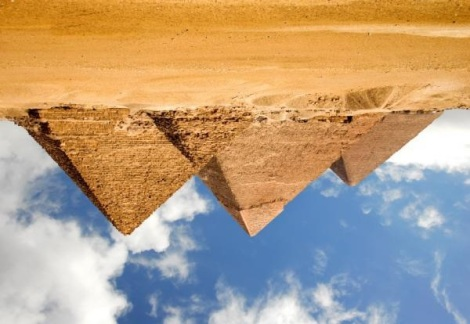 inverse pyramids