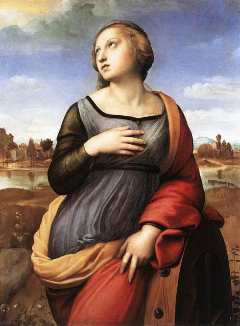 Raphael, St Catherine of Alexandria, 1508 (National Gallery, London)