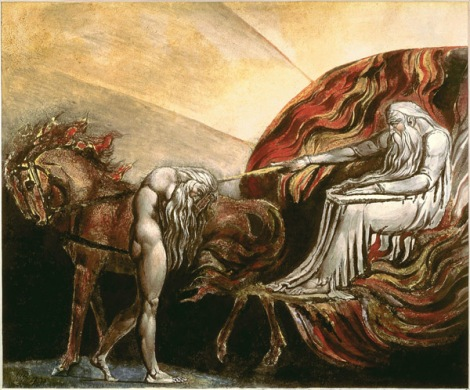 William Blake, God Judging Adam, date unknown