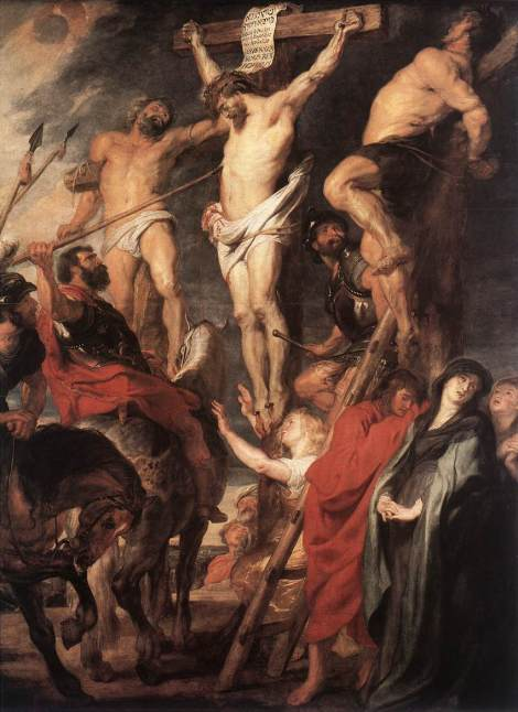Peter Paul Rubens, Christ on the Cross between the Two Thieves, 1620 (Koninklijk Museum, Antwerp)